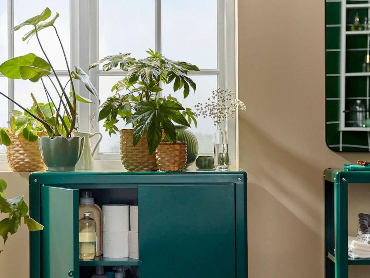 Foto: Soluciones prácticas de Ikea para un baño ordenado. (Cortesía)