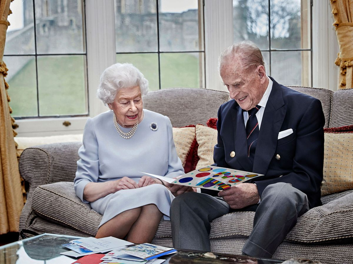 Foto: La reina y el duque de Edimburgo. (Reuters)