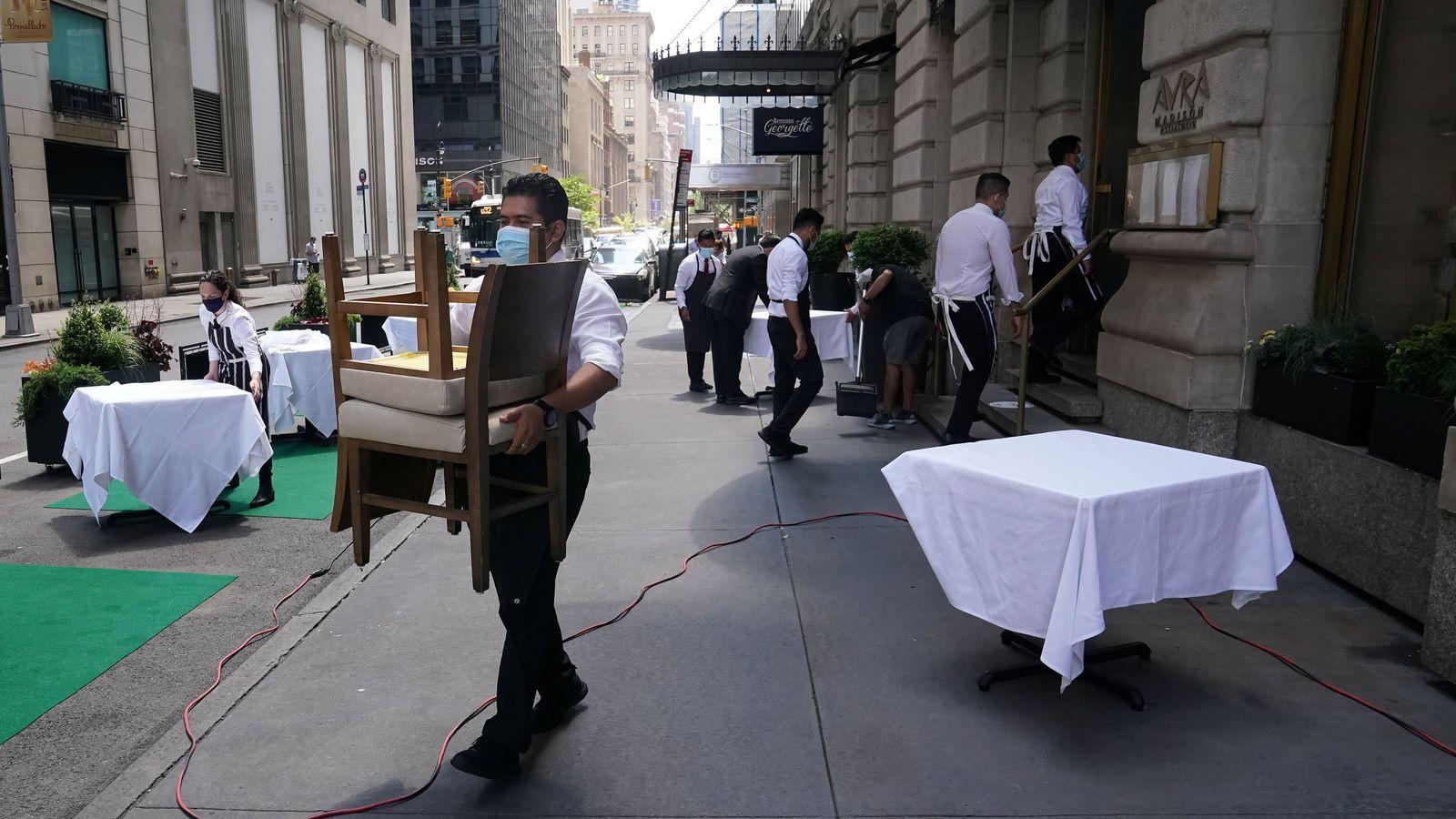 Foto: El sector que más empleo creó fue el del ocio y turismo. (Reuters)