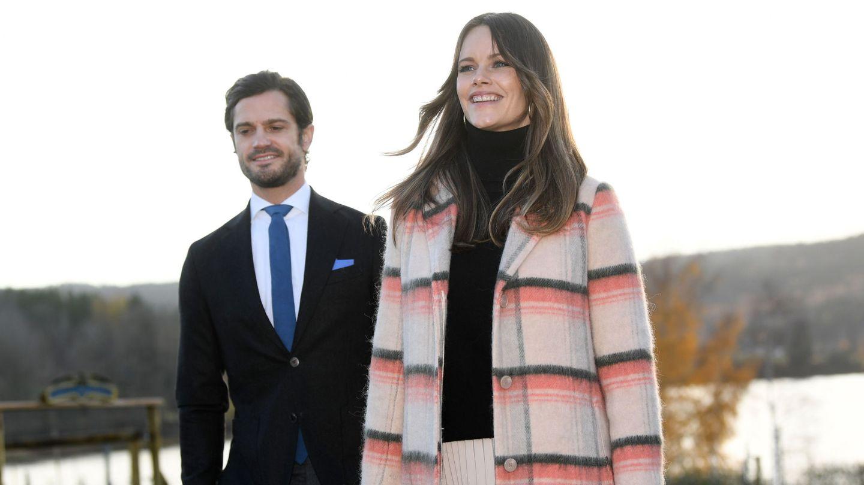 Carlos Felipe y Sofía. (Reuters)