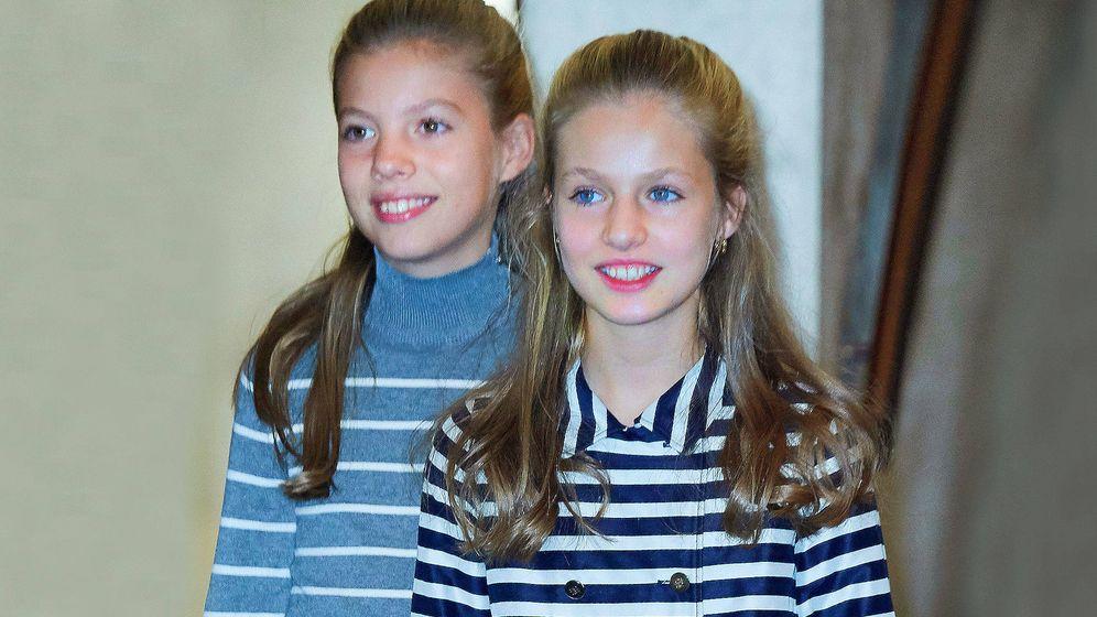 Foto: La princesa Leonor y la infanta Sofía. (Limited Pictures)