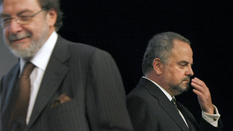 Cebrián e Ignacio Polanco.