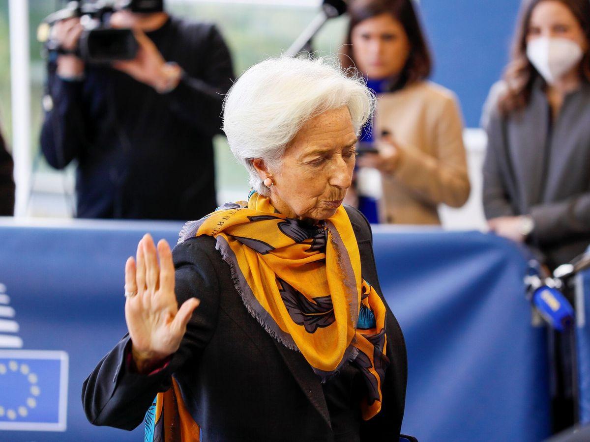 Foto: La presidenta del BCE, Christine Lagarde. (EFE)