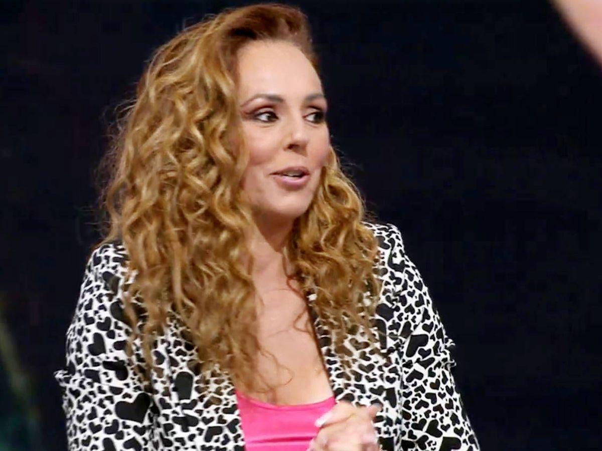 Foto: Rocío Carrasco, durante la entrevista. (Telecinco)