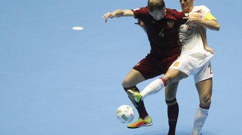 España se despide del Mundial de fútbol sala tras perder ante Rusia en cuartos