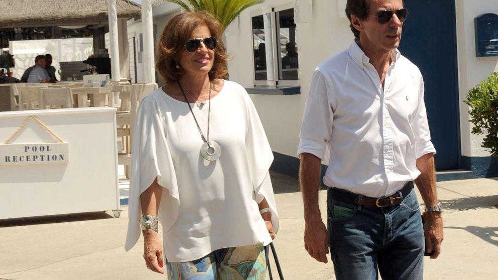 José María Aznar y Ana Botella disfrutan de unos días en Marbella