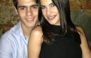 Carla García Barber, la novia de Morata que triunfa en Cibeles