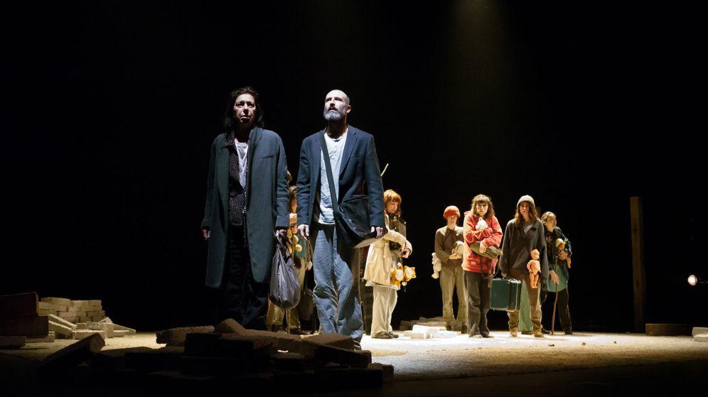 Teatro: La voz de los refugiados se alza en Éxodo