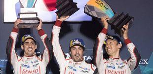Post de Alonso da un zarpazo al mundial en Sebring y consigue una de sus victorias más cómodas