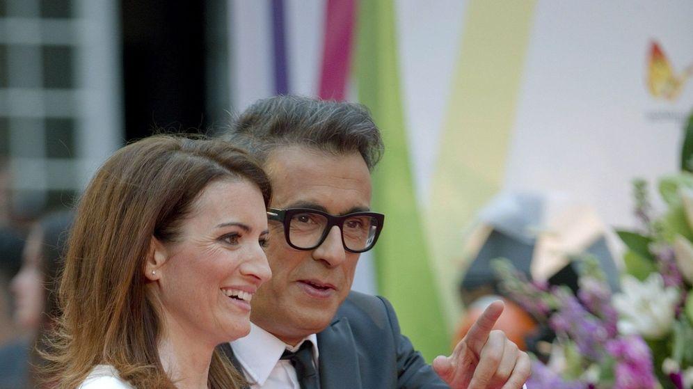 Foto: Sílvia Abril y Buenafuente. (Efe).