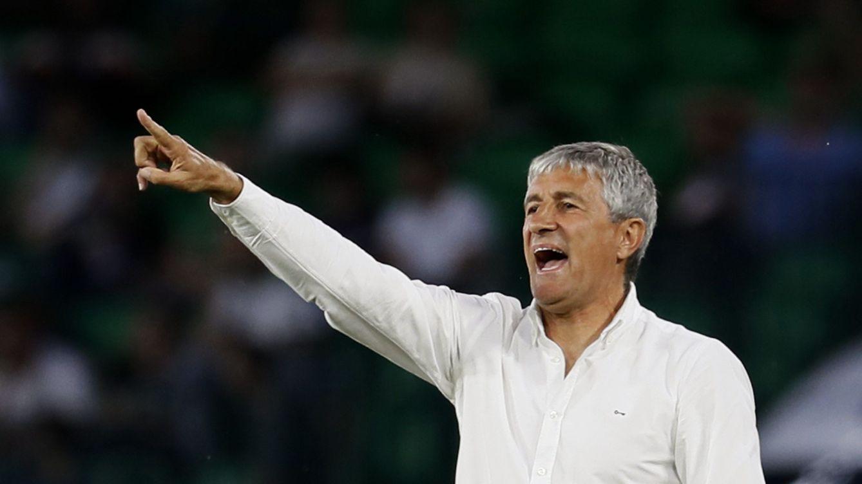 Foto: Quique Setién, nuevo entrenador del Barça. (EFE)