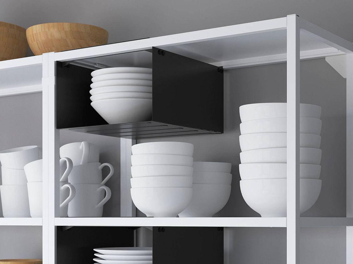 Foto: Soluciones de Ikea para ganar espacio en una cocina pequeña. (Cortesía)