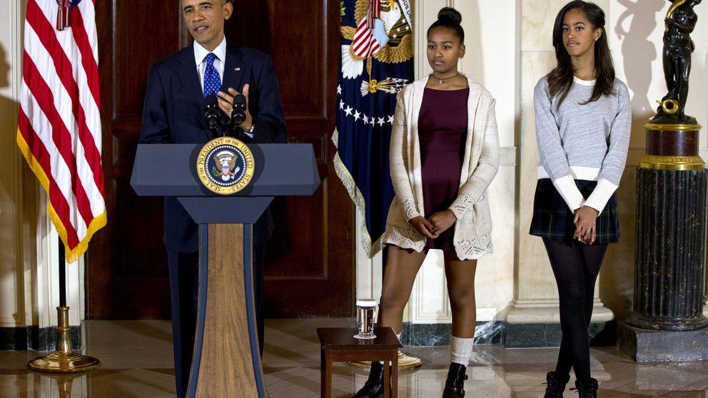 Las hijas de Obama evocan la polémica de las de Zapatero