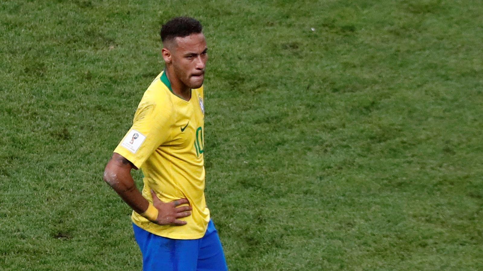 Foto: No ha sido el Mundial de Neymar. (Reuters)