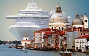 Los venecianos huyen de Venecia