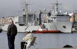 Defensa lleva el Cantabria a la India para captar clientes para Navantia