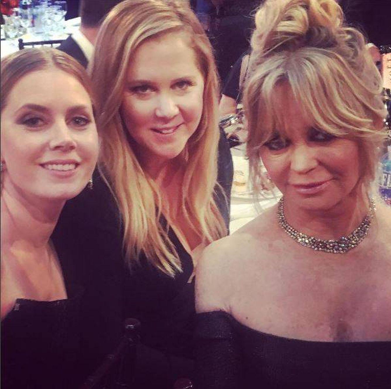 Amy Schumer, Amy Adams y Goldie Hawn