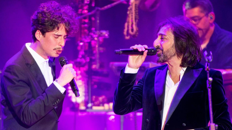 Kiki Morente y Antonio Carmona, en una actuación. (EFE)