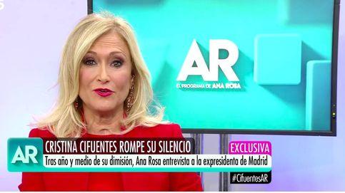 Cristina Cifuentes, tentada para concursar en 'Supervivientes 2020'