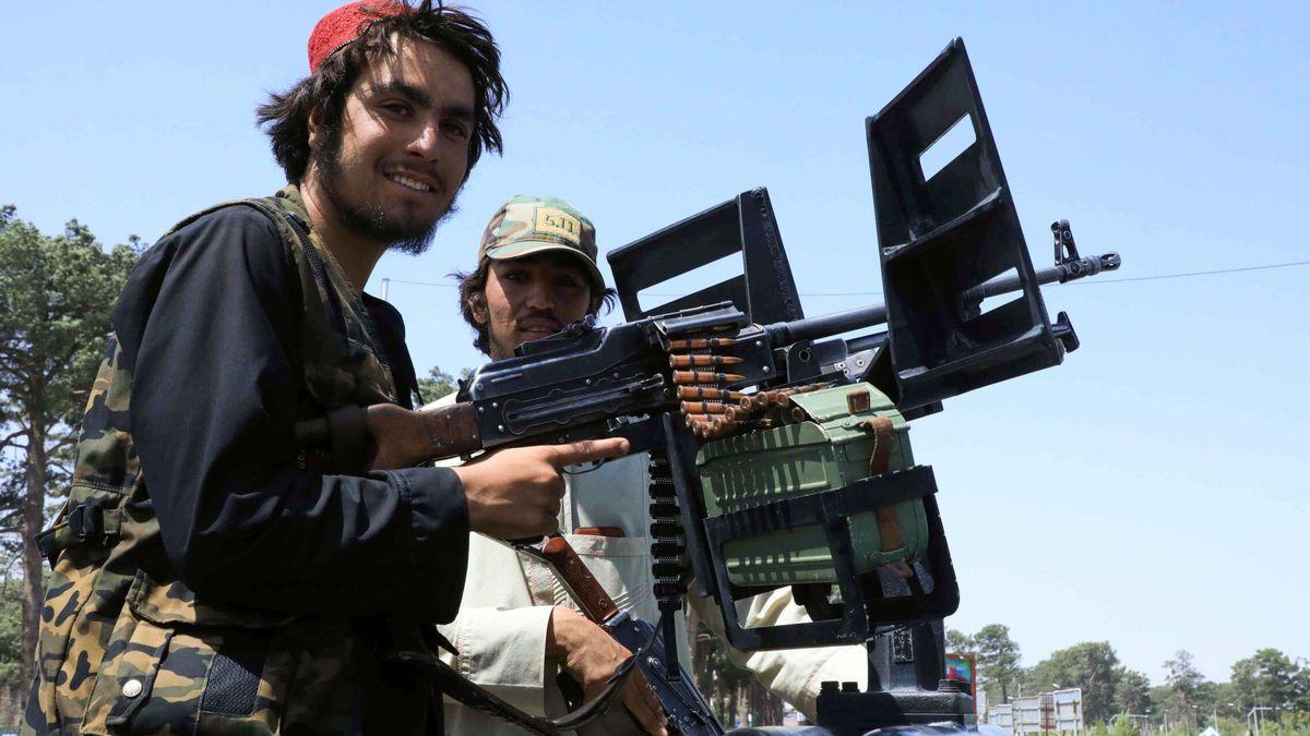Talibanes, a las afueras de Kabul
