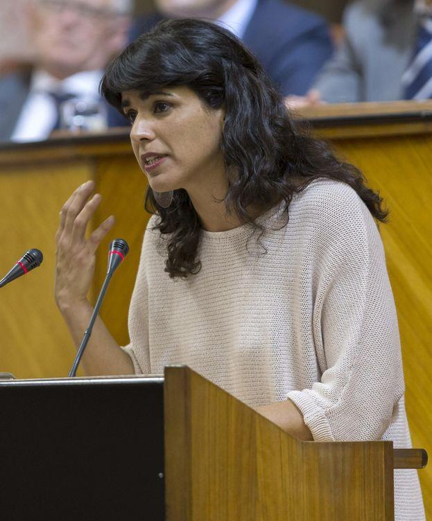 Foto: La líder andaluza de Podemos, Teresa Rodríguez (EFE)