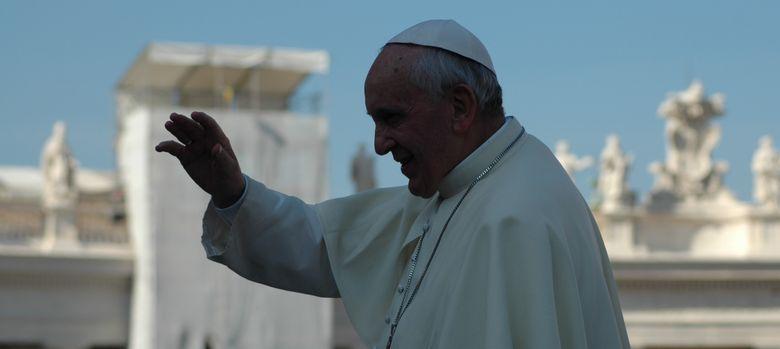Foto: El Papa Francisco (A. Rivera)