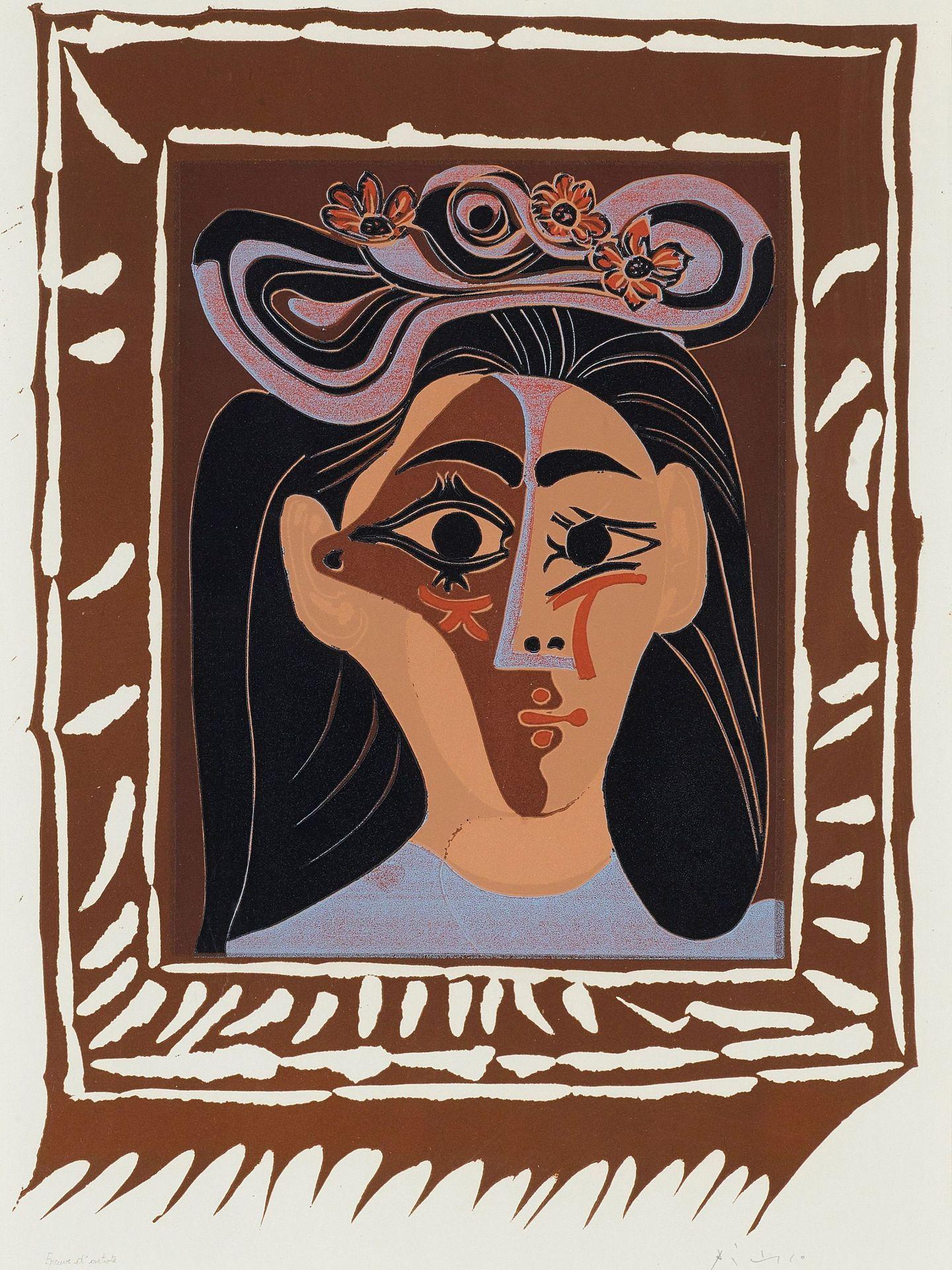 Una de las obras de Picasso en posesión de su nieta. (EFE)