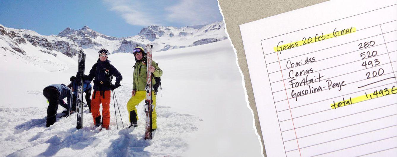 Foto: Bárcenas esquiando junto a su hijo, en un montaje de 'Vanitatis'