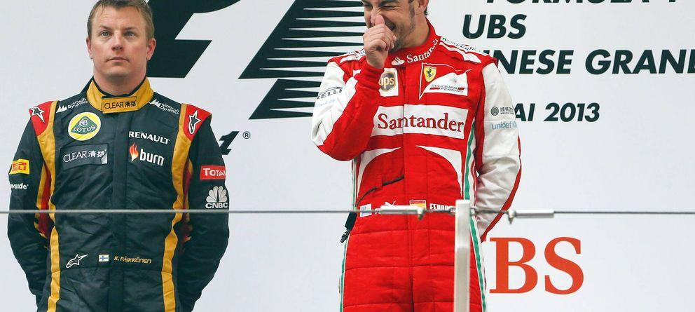 Kimi Raikkonen, hablar poco fuera de la pista, pero mucho sobre el asfalto
