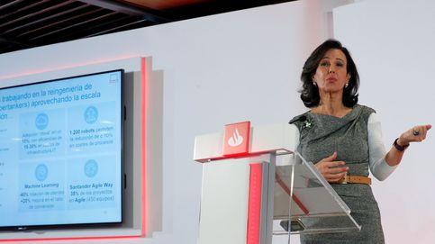 El 'scrip dividend' del Santander ha servido para ampliar capital en un 24%