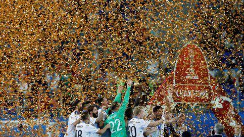Alemania también es campeona con los menos habituales
