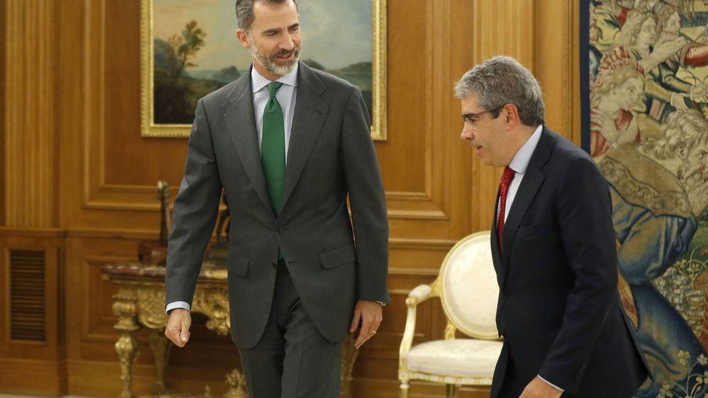 Homs confirma al Rey que no darán un paso atrás con el referéndum