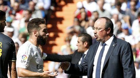 Benítez se tapa los oídos con la reacción del Bernabéu... y hace que le piten a Jesé