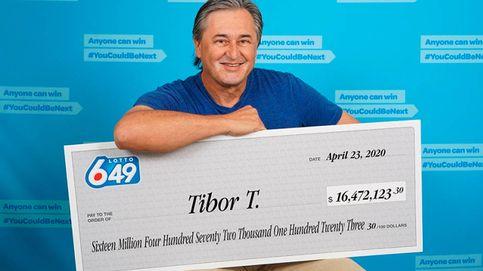 Un hombre se hace rico en el cuarto de baño al ganar 16 millones a la lotería
