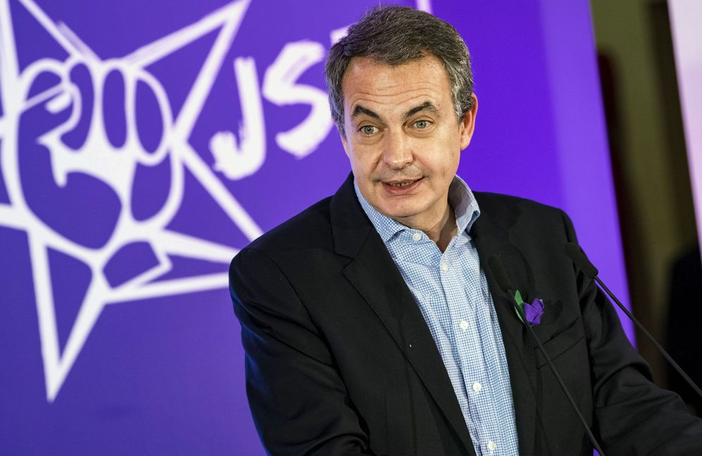 Foto: José Luis Rodríguez Zapatero, el pasado 26 de noviembre en Toledo, cuando recibió el Premio Violeta concedido por Juventudes Socialistas. (EFE)