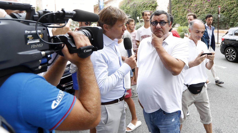 Monaco 24 08 2017 Lots to UEFA Champions League Group stage 2017 2018 Mino Raiola