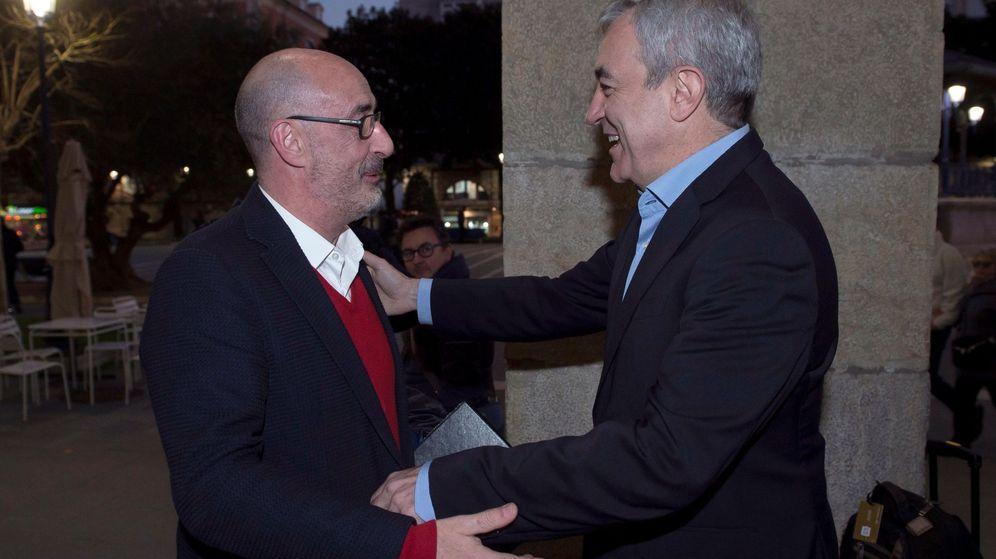 Foto: Luis Garicano (d), y el portavoz autonómico de Ciudadanos de Cantabria, Félix Álvarez (i). (EFE)