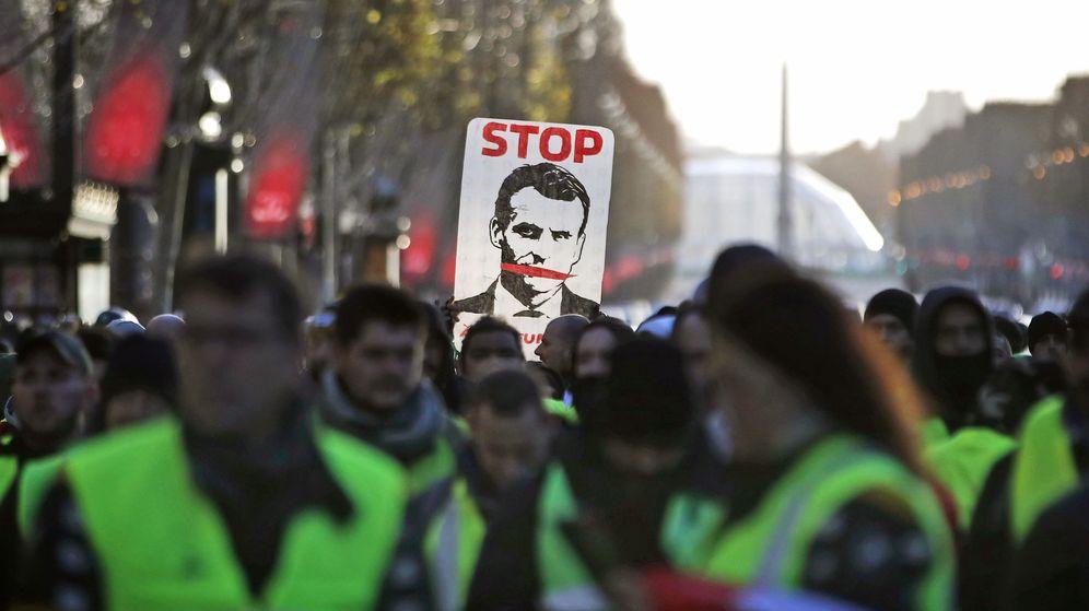 Foto: Protesta de los chalecos amarillos en Francia. (Reuters)