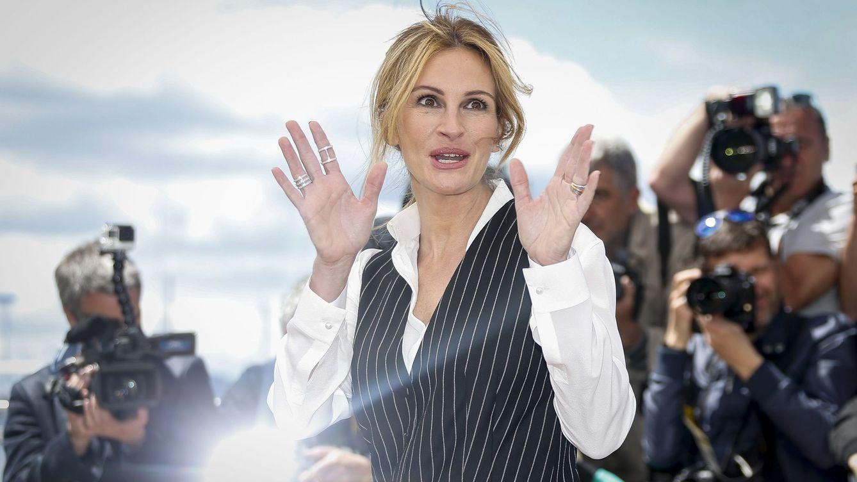 Foto:  La actriz estadounidense Julia Roberts a su llegada al pase de Money Monster. (EFE Julien Warnad).