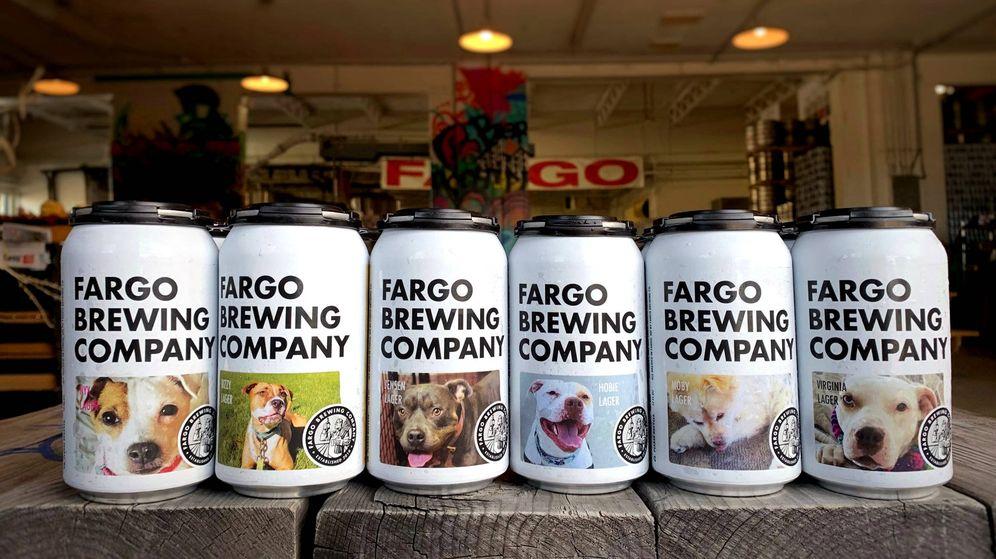 Foto: La idea de Fargo es promover la adopción de estos cachorros y vaciar los refugios (Foto: Twitter/Fargo)