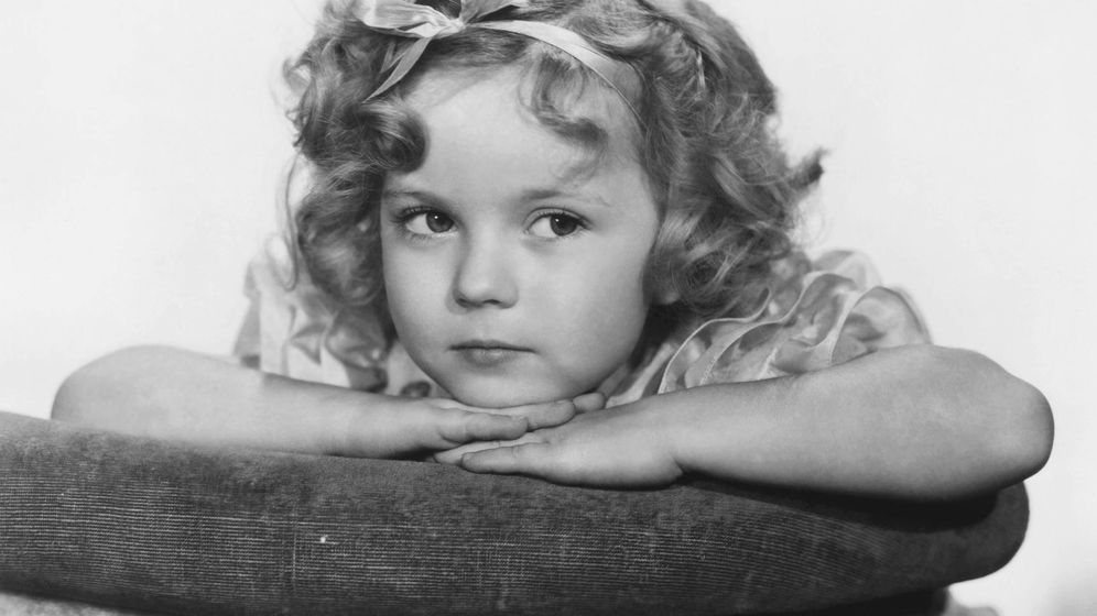 Foto: Shirley Temple en 1934. (Cordon Press)