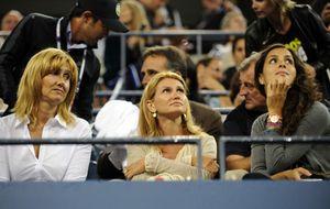 Las tres mujeres de Rafa Nadal y los duques de Palma, espectadores de lujo de su victoria en el US Open