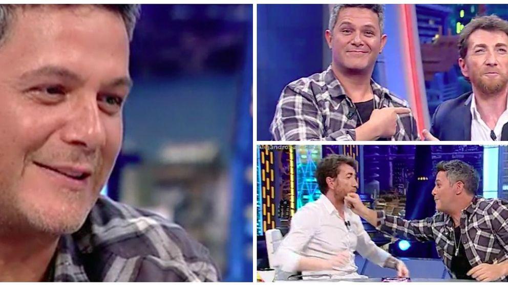 Alejandro Sanz conquista al público de 'EH' al hablar así de su hijo Dylan