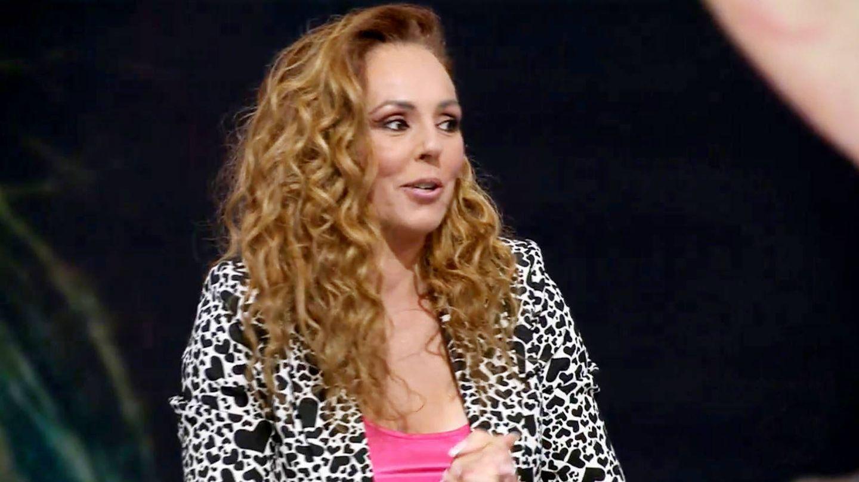 Rocío Carrasco, durante su última entrevista. (Telecinco)