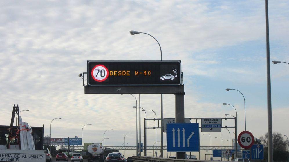 Foto: El de 70 km/h es el límite más superado en Madrid.