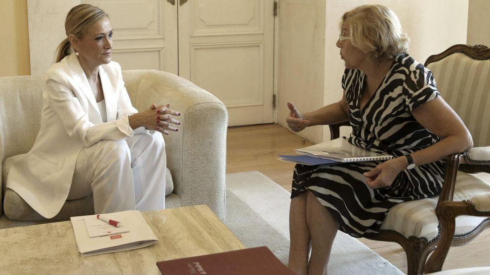 Cifuentes pide a Carmena que resuelva los problemas de madrileños