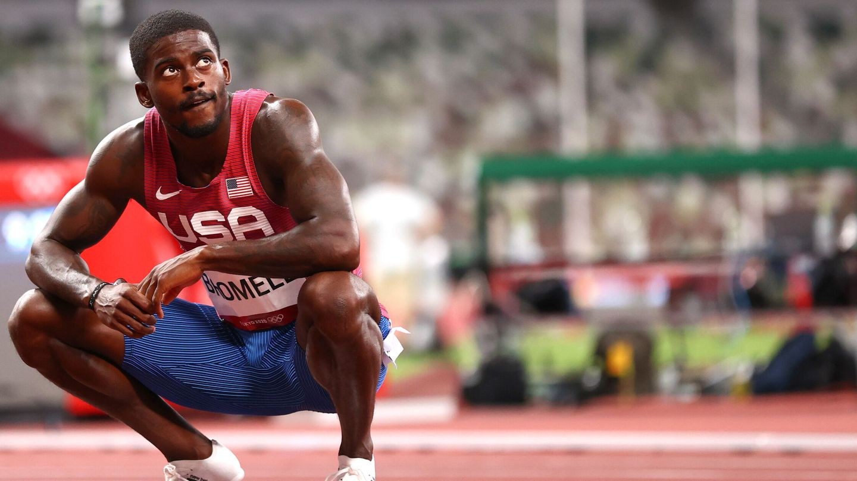 Bromell se queda fuera de la final de 100 metros lisos. (Reuters)