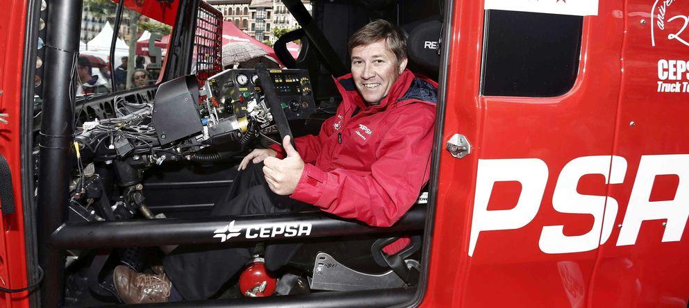 Foto: Antonio Albacete se queda sin el liderato del Europeo de camiones en la penúltima prueba.