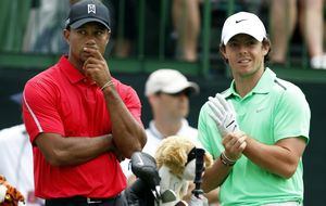 Rory McIlroy vs. Tiger Woods: ¿quién es el rey del golf mundial?