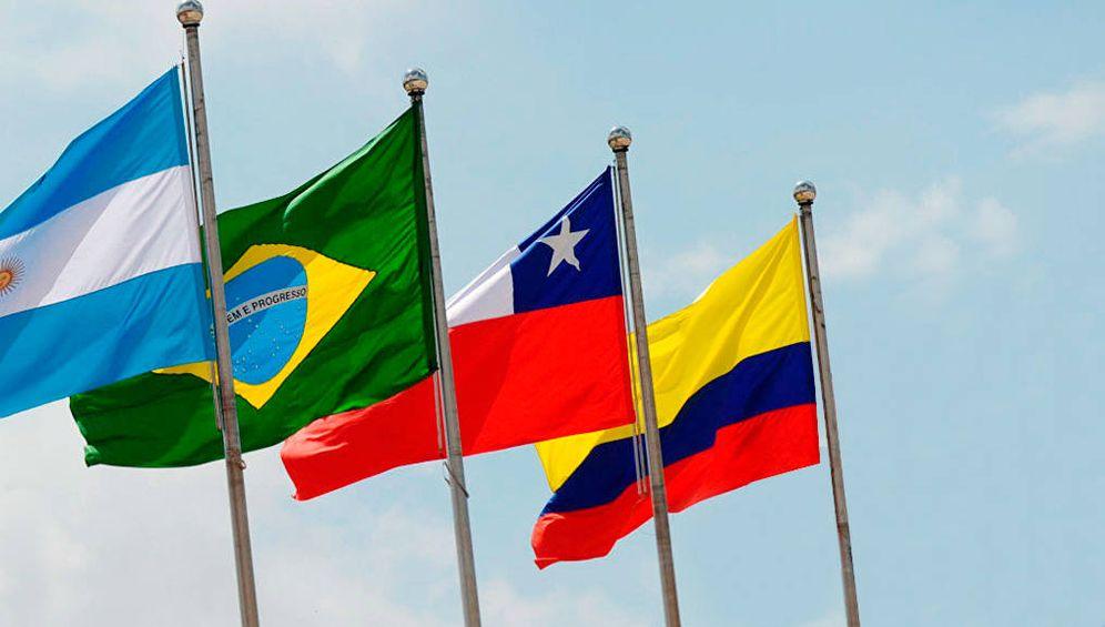 Foto: Algunos de los países que apoyan a Juan Guaidó.
